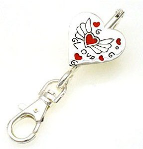 Love-hear-wings key finder jewelry