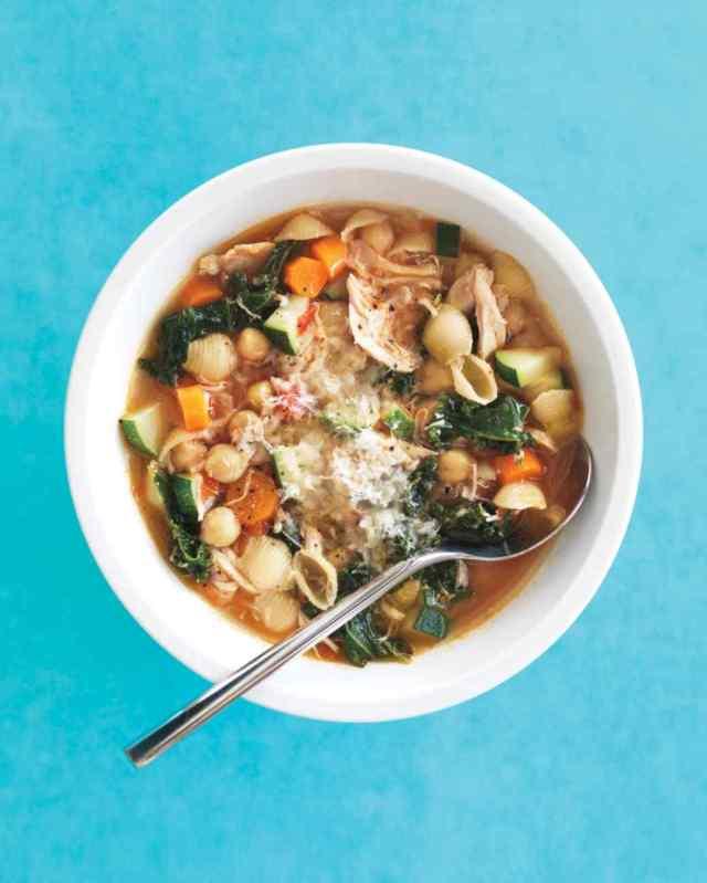 rustic chicken minestrone