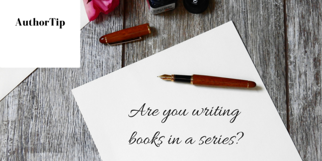 Are you writing books in a series- (3)
